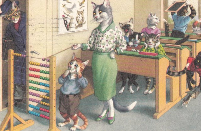 Dressed Cats By  Alfred Mainzer
