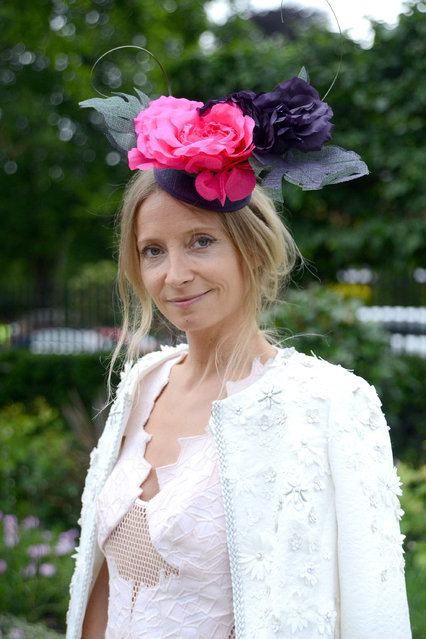 ASCOT, ENGLAND - JUNE 17:  Martha Ward attends Royal Ascot 2015 at Ascot racecourse on June 17, 2015 in Ascot, England.  (Photo by Kirstin Sinclair/Getty Images for Ascot Racecourse)