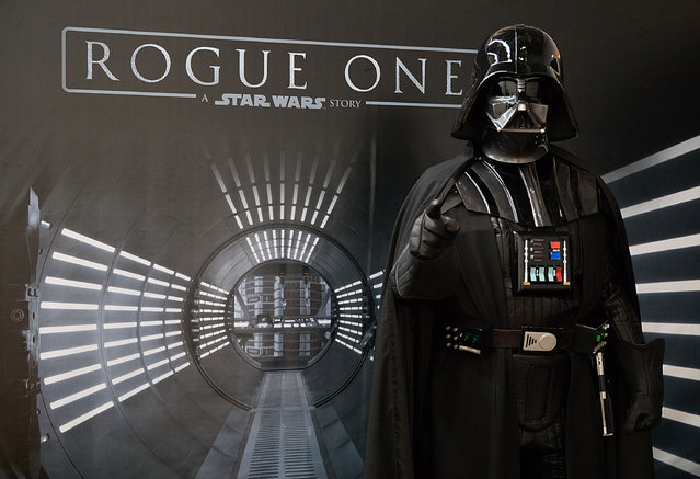 "SXSW Attendees Join The Rebellion Through An All-New Immersive Adventure by ""Rogue One: A Star Wars Story"", March 10-12 at Grimes Studio on March 10, 2017 in Austin, Texas. (Photo by Rick Kern/Getty Images for Walt Disney Studios Home Entertainment )"