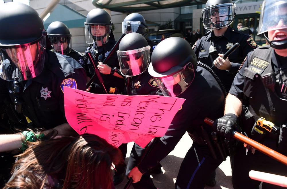 Anti-Trump Protests in USA