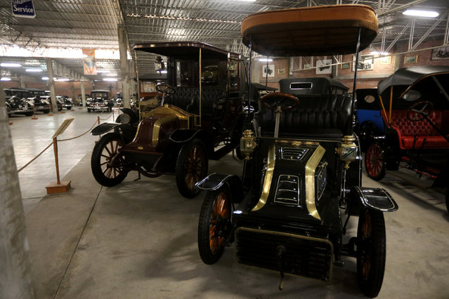A Clement Brass AC K1 car is seen at the Nicolini Collection Car Museum in Lima, Peru June 1, 2017. (Photo by Guadalupe Pardo/Reuters)