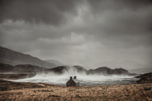 Shelter from the Storm, Loch Stack, Sutherland, Scotland, 2016. (Photo by Dougie Cunningham/The Guardian)