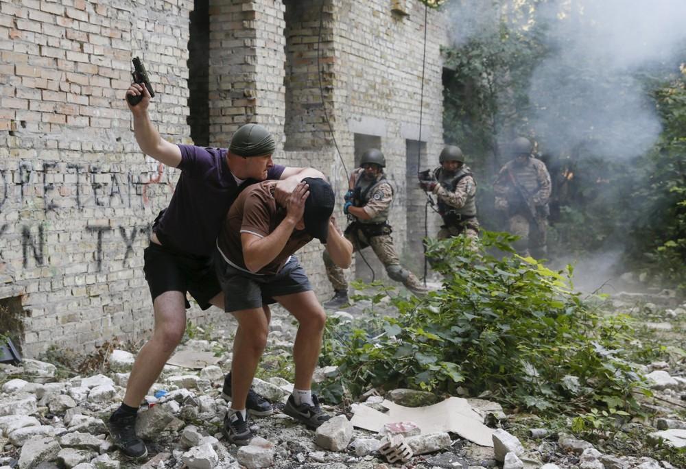 Anti-Terror Drill in Kiev