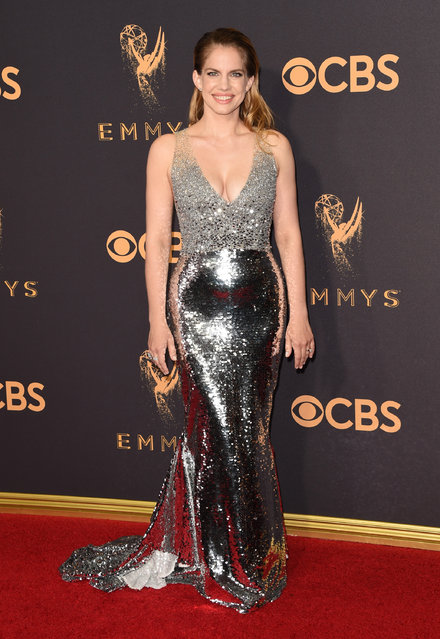 Actor Anna Chlumsky attends the 69th Annual Primetime Emmy Awards at Microsoft Theater on September 17, 2017 in Los Angeles, California. (Photo by J. Merritt/Getty Images)