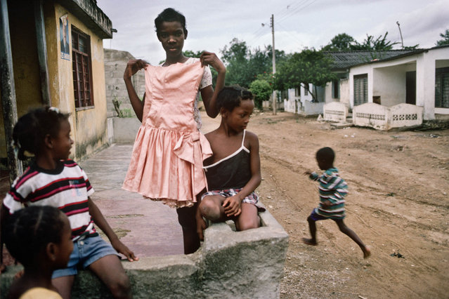 Colombia.  Children in Palenque de San Basilio in July 1998. (Photo by Jean-Claude Coutausse)