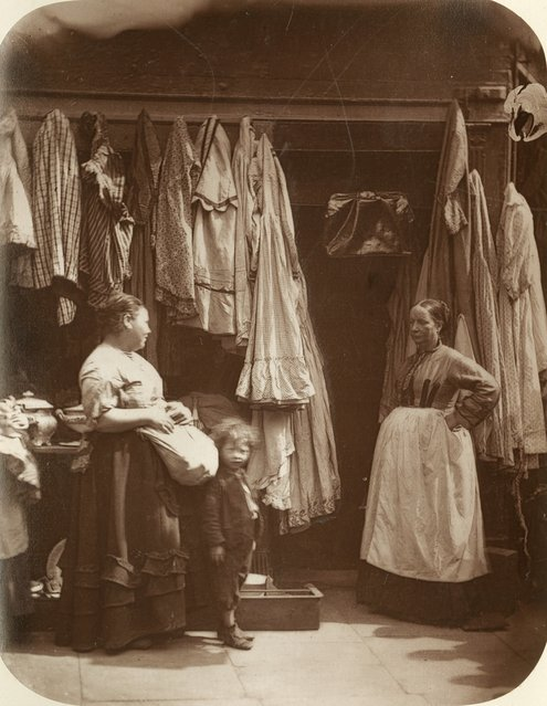 Vintage Clothing St.Giles. (Photo by John Thomson/LSE Digital Library)