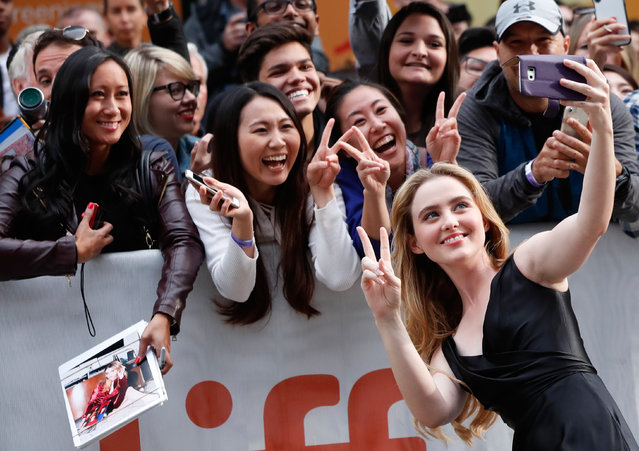 Actor Kathryn Newton arrives for the world premiere of Ben is Back at the Toronto International Film Festival (TIFF) in Toronto, Canada on September 8, 2018. (Photo by Mario Anzuoni/Reuters)