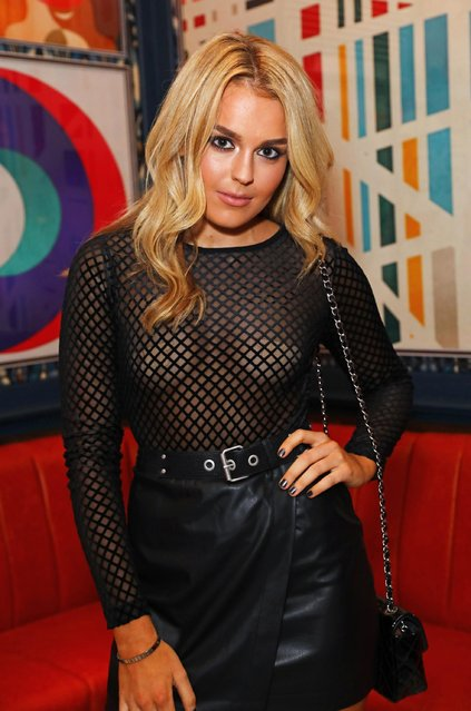 Tallia Storm attends the InStyle EE Rising Star Party ahead of the EE BAFTA Awards at The Ivy Soho Brasserie on February 1, 2017 in London, England. (Photo by David M. Benett/David M. Benett/Getty Images for InStyle)