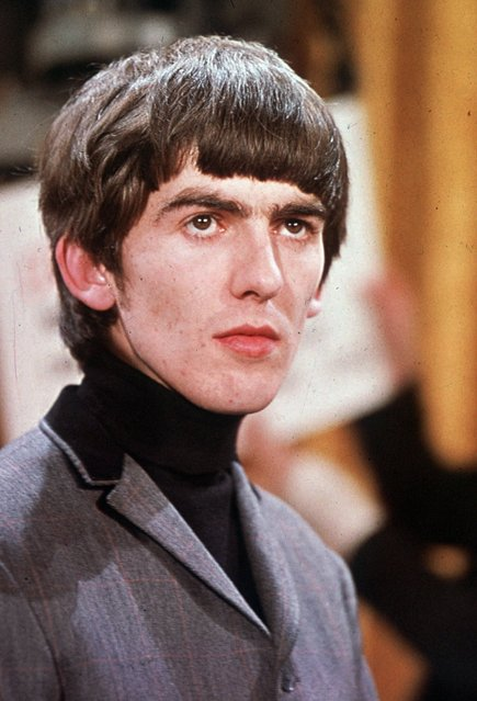 Pop musician George Harrison is shown in this 1964 photo. (Photo by AP Photo)