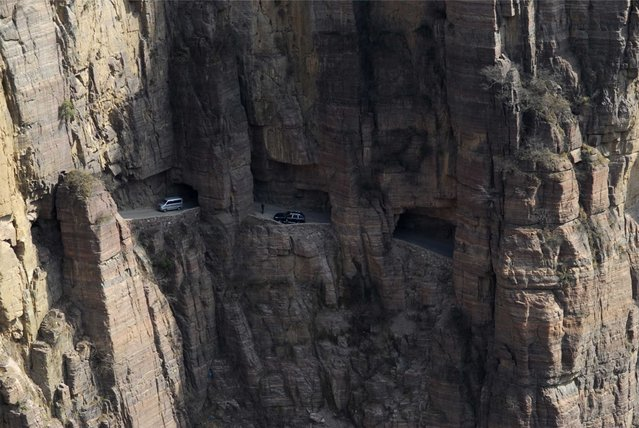 Guoliang Road Tunnel In China