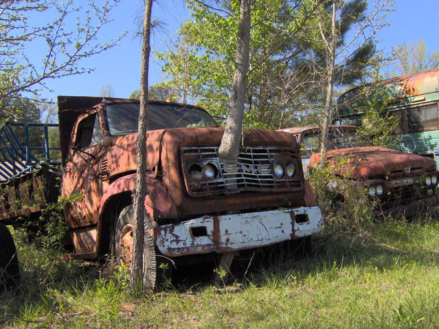 Time, Car, Rust