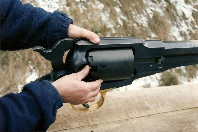 World's Biggest Revolver By Ryszard Tobys