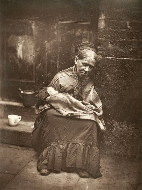 Tailors Widow. (Photo by John Thomson/LSE Digital Library)