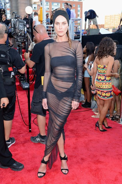 Model Erin Wasson attends the 2013 MTV Video Music Awards at the Barclays Center on August 25, 2013 in the Brooklyn borough of New York City.  (Photo by Larry Busacca/Getty Images for MTV)