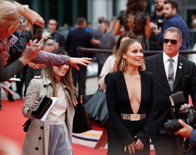 Actor Olivia Wilde arrives for the world premiere of Life Itself at the Toronto International Film Festival (TIFF) in Toronto, Canada on September 8, 2018. (Photo by Mark Blinch/Reuters)
