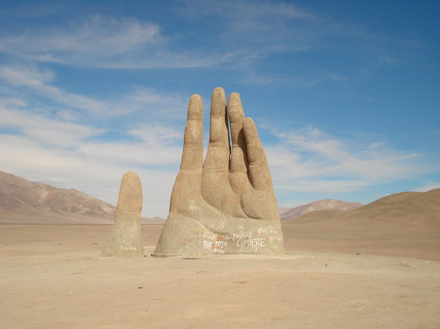 The Giant Hand of Atacama