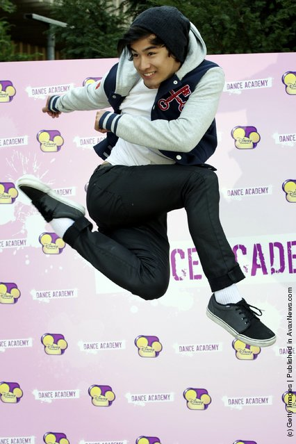 Jordan Rodrigues attends Dance Academy photocall