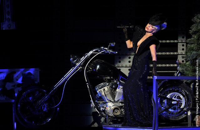 Singer Lady Gaga performs at KIIS FM's Jingle Ball at L.A. Live's Nokia Theatre