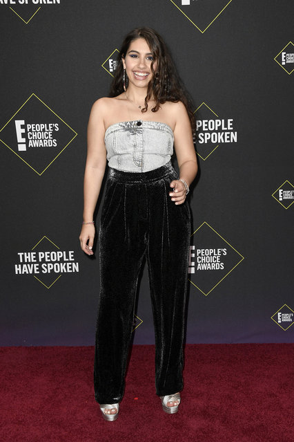 Alessia Cara attends the 2019 E! People's Choice Awards at Barker Hangar on November 10, 2019 in Santa Monica, California. (Photo by Frazer Harrison/Getty Images)