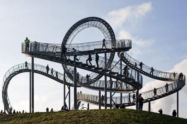 Walkable Roller-Coaster In Germany