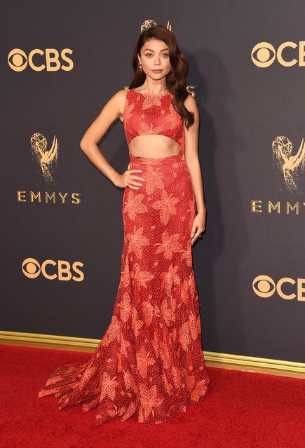 Actor Sarah Hyland attends the 69th Annual Primetime Emmy Awards at Microsoft Theater on September 17, 2017 in Los Angeles, California. (Photo by J. Merritt/Getty Images)
