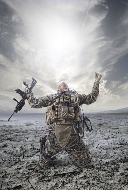 War is hell... (Photo by Geir Akselsen)