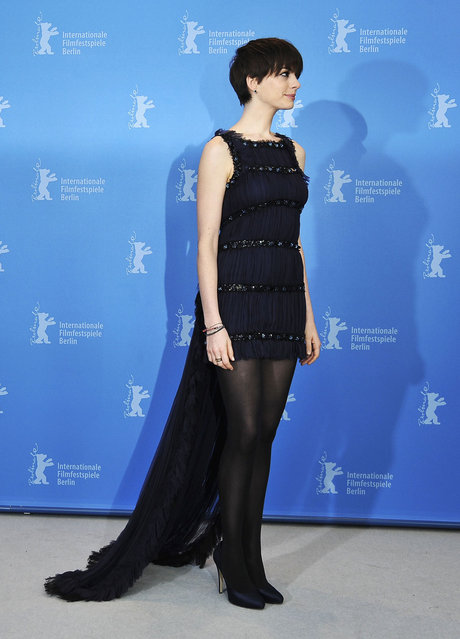 """Anne Hathaway attends the """"Les Miserables"""" Photocall during the 63rd Berlinale International Film Festival at Grand Hyatt Hotel on February 9, 2013 in Berlin, Germany. (Photo by Andreas Rentz)"""