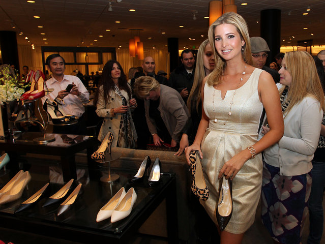 Ivanka Trump attends the Launch of Her Spring 2011 Lifestyle Collection of Footwear at the Topanga Nordstrom on February 17, 2011 in Canoga Park, California. (Photo by Frederick M. Brown/Getty Images)