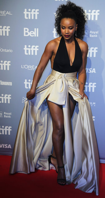 Actor Chante Adams arrives for the Canadian premiere of Monsters and Men at the Toronto International Film Festival (TIFF) in Toronto, Canada on September 7, 2018. (Photo by Chris Helgren/Reuters)