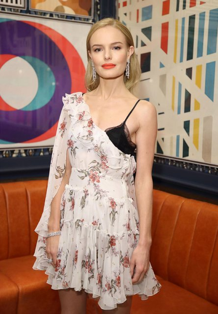 Kate Bosworth attends the InStyle EE Rising Star Party at the Ivy Soho Brasserie on February 1, 2017 in London, England. (Photo by Mike Marsland/Mike Marsland/WireImage)