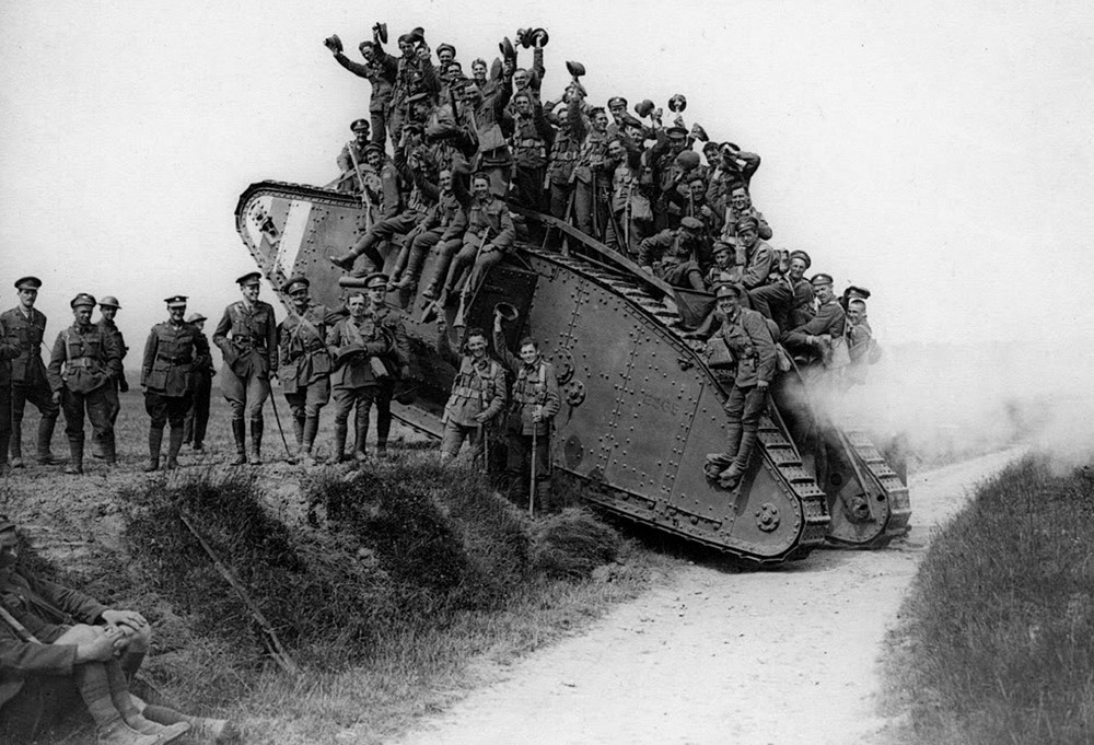 Evolution of the Tank in the First World War