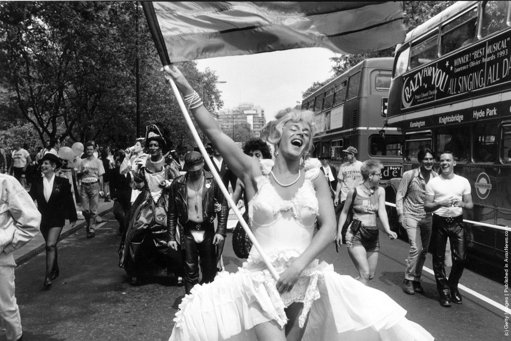Gay Pride in B/W