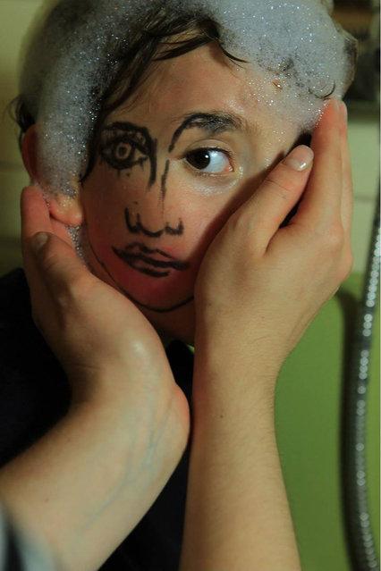 Portraits Of The Double-Faced Girl By Sebastian Bieniek