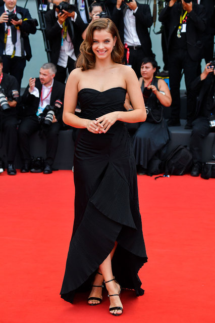 Barbara Palvin walks the red carpet ahead of the opening ceremony during the 76th Venice Film Festival at Sala Casino on August 28, 2019 in Venice, Italy. (Photo by Stephane Cardinale - Corbis/Corbis via Getty Images)