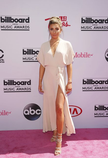 Presenter Lauren Elizabeth arrives at the 2016 Billboard Awards in Las Vegas, Nevada, U.S., May 22, 2016. (Photo by Steve Marcus/Reuters)