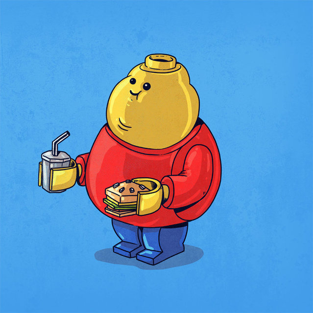 Fat Pop Culture Characters By Alex Solis Part 4