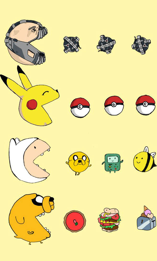 Famous Pac-Men