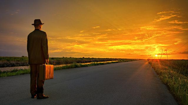 """The Road Ahead"". (Adam Baron)"