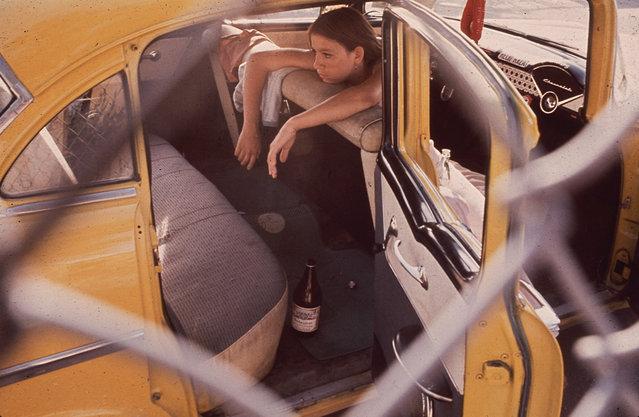 A teenager in El Paso's Second Ward, June 1972. (Photo by Danny Lyon/NARA via The Atlantic)