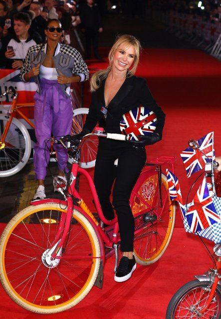 Amanda Holden arrives at the Britain's Got Talent 2019 auditions held at London Palladium on January 20, 2019 in London, England. (Photo by Tim P. Whitby/Getty Images)