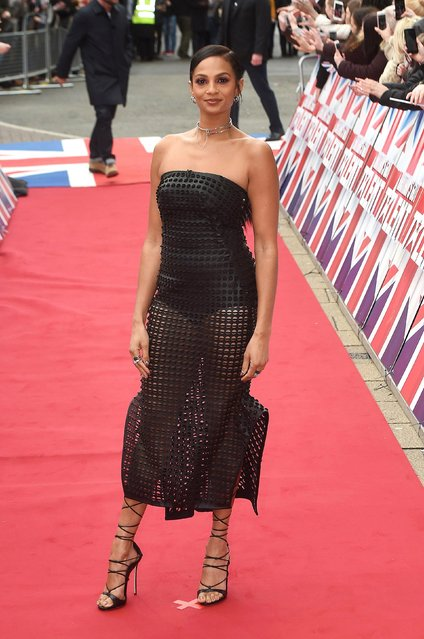 Alesha Dixon arrives for the Britain's Got Talent Birmingham Auditions on February 2, 2017 in Birmingham, United Kingdom (Photo by PA Wire)
