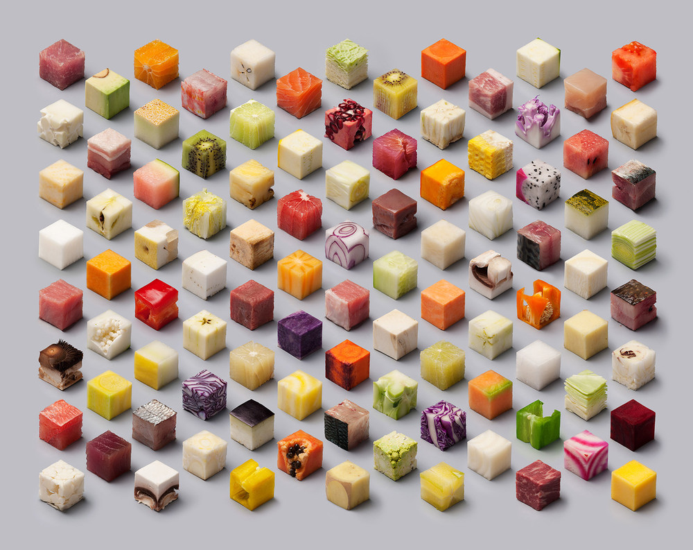 Foods Cut Into Cubes by Lernert and Sander