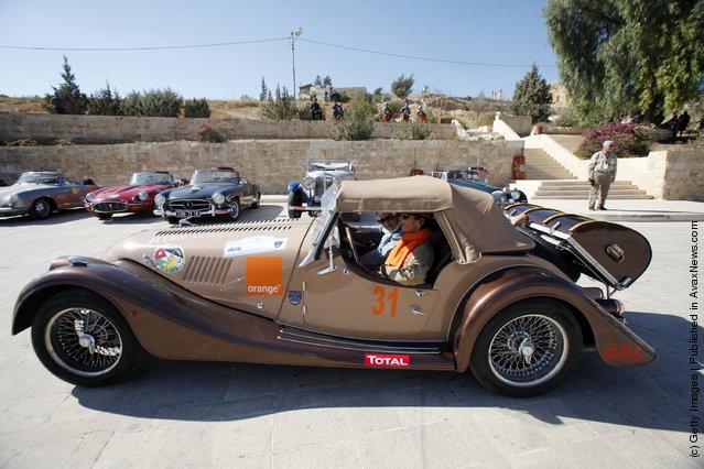 Classic Car Owners In Jordan For The «2011 Jordan Classic»