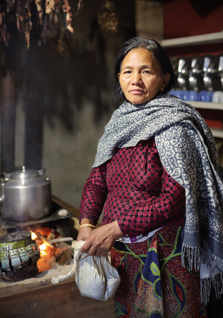 """""""The Cook"""". The cook in Tal. Photo location: Nepal. (Photo and caption by Ed Graham/National Geographic Photo Contest)"""