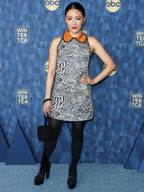 ABC Television's TCA Winter Press Tour 2020 held at The Langham Huntington Hotel on January 8, 2020 in Pasadena, Los Angeles, California, United States. Pictured: Constance Wu. (Photo by The Mega Agency)