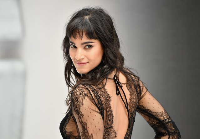 """Sofia Boutella attends the UK Premiere of Paramount Pictures """"Star Trek Beyond"""" at the Empire Leicester Square on July 12, 2016 in London, England. (Photo by Gareth Cattermole/Getty Images for Paramount Pictures)"""