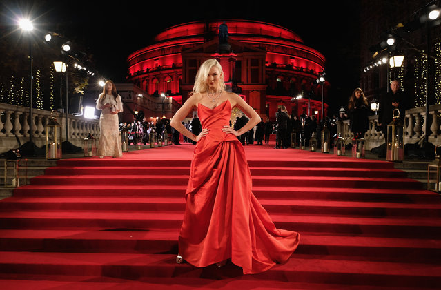 American model Karlie Kloss attends The Fashion Awards 2017 in partnership with Swarovski at Royal Albert Hall on December 4, 2017 in London, England. (Photo by Mike Marsland/Getty Images for BFC)
