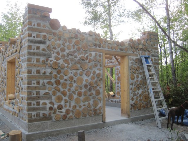 Cordwood Construction - Natural Building
