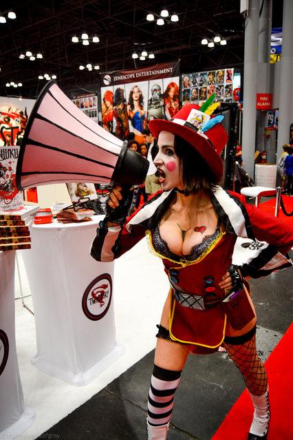 New York Comic Con/Anime Festival 2013. (Photo by Jo Sef Gray)