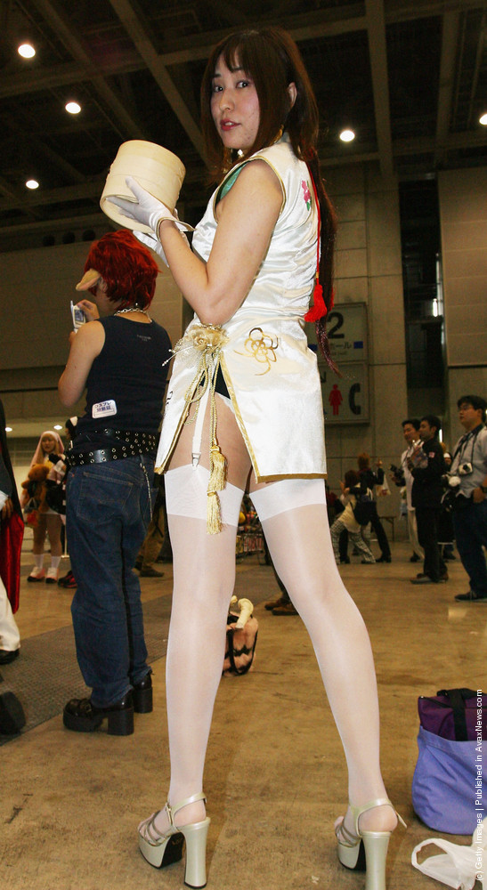 Girls Attend Cosplay (Costume Play) Event In Tokyo